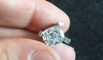 Wholesalers and jewelers source their stones at the diamond manufacturer