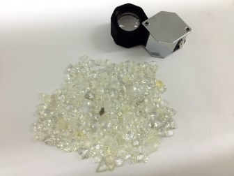 Sicherer Diamantenhandel